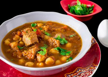 Moroccan herira soup